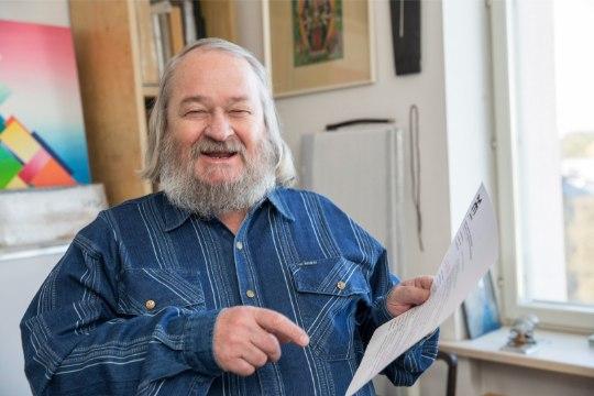 VIDEO   Leonhard Lapin: minu teoseid ei ole vaja lahti mõistatada