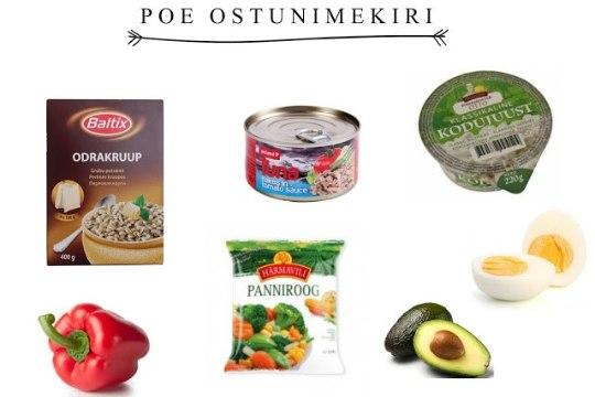 """Kiirelt ja tervislikult: Odrakruup tomatikastmes tuunikala ja kodujuustuga"""""""