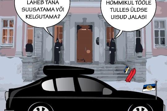 Karikatuur | President muudkui uisutab ja suusatab