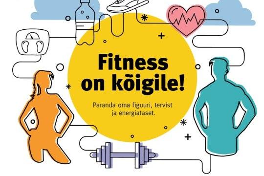 TÄIENDATUD! APRILL on fitnessikuu! Vaata tegevusi erinevates spordiklubides!