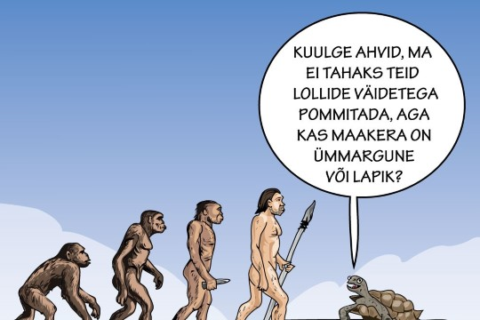Karikatuur   Lame maa