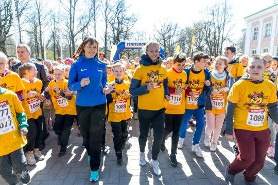 GALERII JA ÕHTULEHE VIDEO   President Kaljulaid jooksis liikumisvõimetute laste tervise nimel