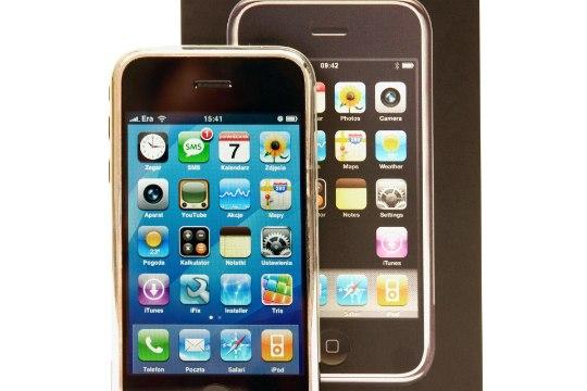 ÕNNE! Ikooniks kujunenud iPhone saab kümneaastaseks