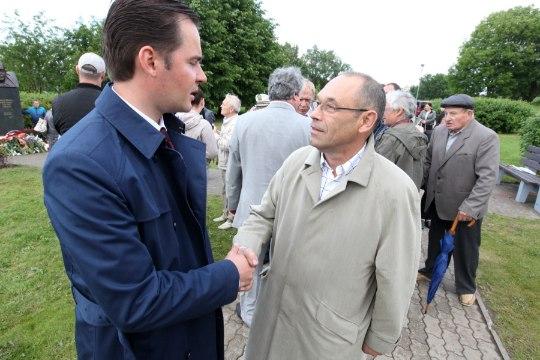 PILDID | Endisele Maardu linnapeale Georgi Bõstrovile püstitatud ausammas läks maksma 24 800 eurot