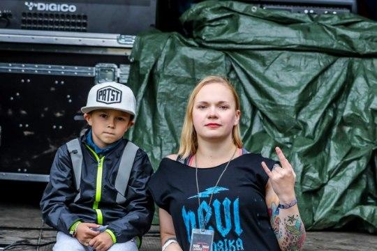Hard Rock Laager: raskemuusika järgi rokkisid nii karmid mehed kui ka väikesed lapsed