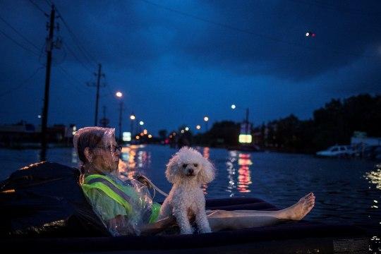 FOTOD | Houstoni tänavad on muutunud jõgedeks