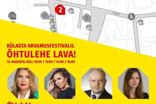 TULGE KÕIK: arvamusfestivalil paneme püsti Õhtulehe lava!