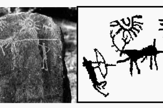 Найдено древнейшее изображение космической катастрофы