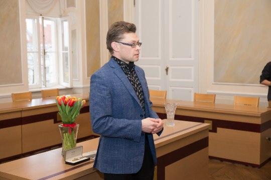 GALERII   Tartu linnakirjanik Mika Keränen: ma keeran vinti juurde!
