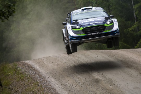 Potentsiaalikas soomlane pääseb kaheksaks ralliks Fordi WRC masina rooli