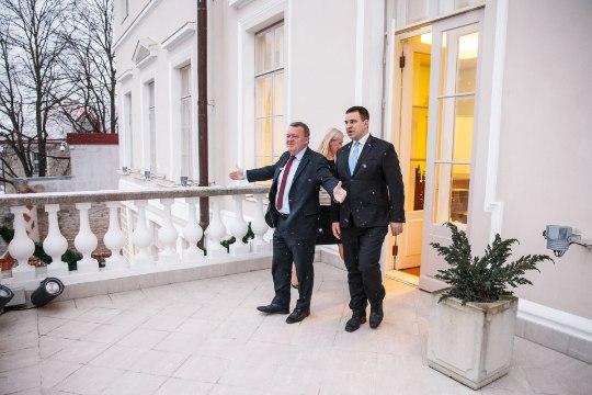 Ratas arutas Rasmusseniga kaitsekoostööd ja digiarengut