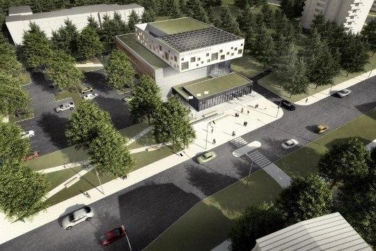Mustamäele kerkib uus kultuurikeskus