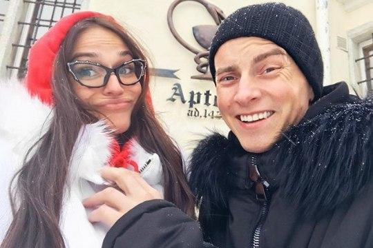 Звезда «Дома-2» Алёна Водонаева отдыхает в Таллинне (ФОТО)