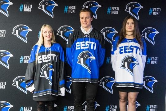 GALERII   HÜVASTI, LÕVID! Eesti jäähoki sai omale uue näo - pääsuke