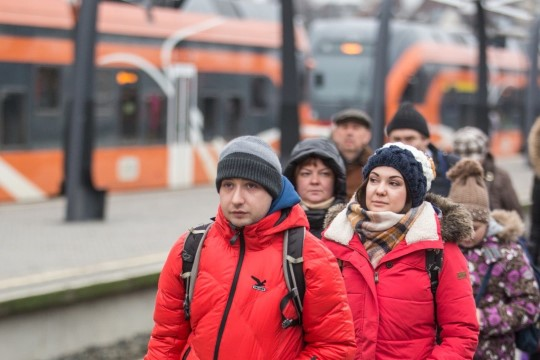 """""""Едем-едем в соседнее село на дискотеку"""": руссо туристо в Таллинне"""