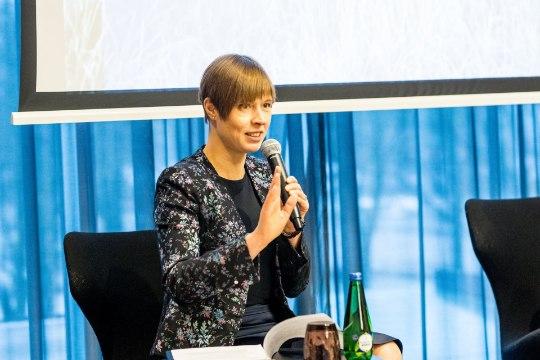Kaljulaid tegi Trumpi suunas elegantse torke