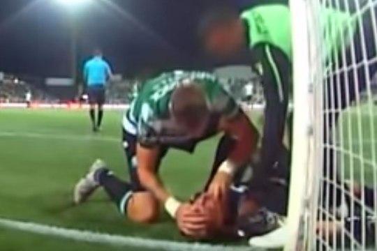 VIDEO   Endine Liverpooli mängija päästis Portugali kõrgliigas meeskonnakaaslase elu