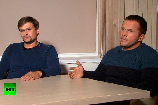 СМИ: Петров и Боширов следили за Скрипалем в Чехии в 2014 году