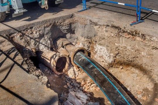 Авария водопровода в Таллинне усложнит дорожное движение до вечера пятницы