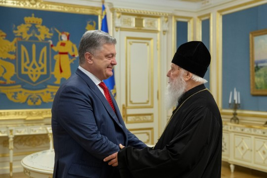 "Порошенко объявил победу над ""московскими демонами"""