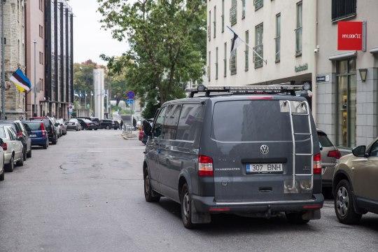 На улице Роозикрантси сегодня пройдут учения полиции