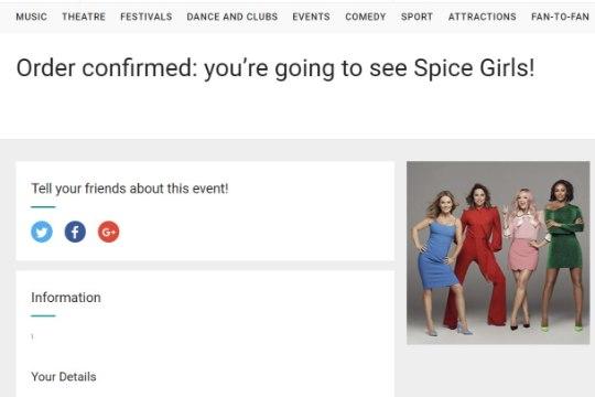 Spice Girlsi ühinemistuuri piletid läksid nagu soojad saiad, välja kuulutati viis lisakontserti