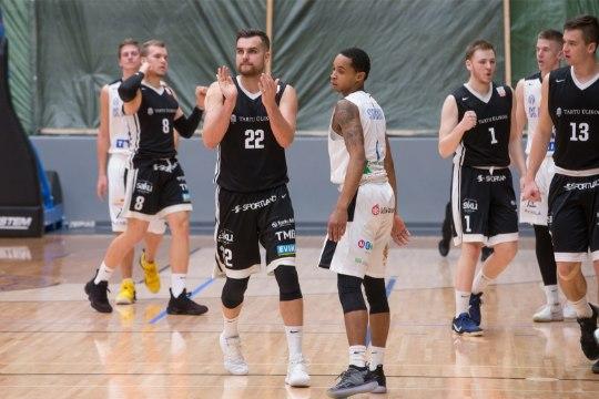 Võimsad numbrid kogunud Tartu leedulane valiti Eesti-Läti liiga kuu parimaks mängijaks