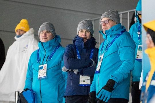 GALERII | Kersti Kaljulaid oli Eesti sportlastele toeks