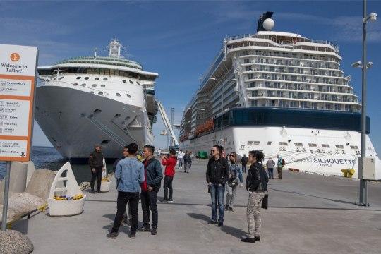 Таллинн бьет рекорды по числу иностранных туристов