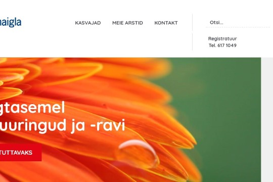 Regionaalhaigla avas vähiraviteemalise infoveebi