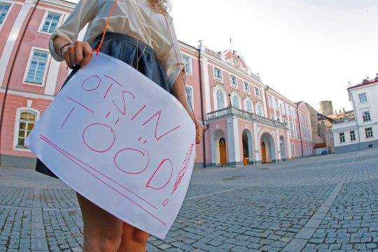 GRAAFIK   Eestis jääb töötuid üha vähemaks