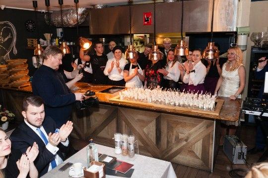 Смотри, кто пришел на день рождения ресторана Kitchen Rõõm