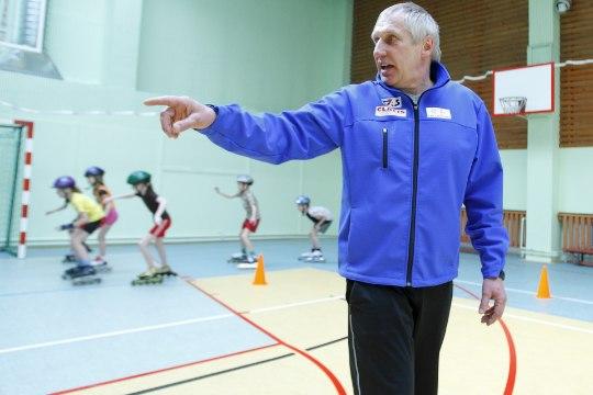 Väino Treiman – treener, kes treib Adavere looduslikul jäärajal maailma tippuisutajaid
