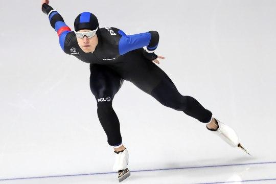 Noor kiiruisutaja purustas juunioride MMil kaks Marten Liivile kuulunud rekordit