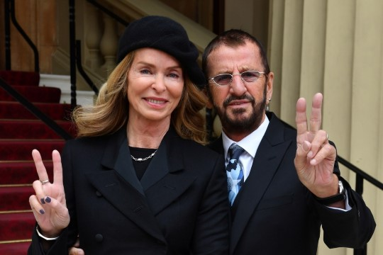 The Beatlesi legend Ringo Starr sai rüütlitiitli