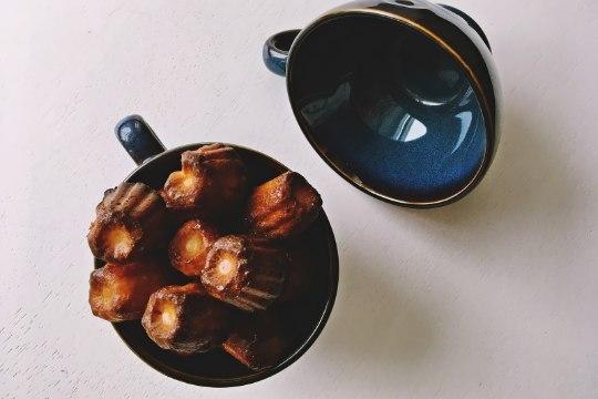 Kui maitsev! Rummi ja vaniljega cannelé koogikesed