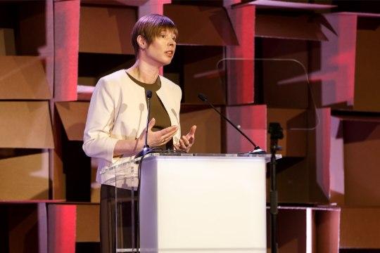 GALERII   Kaljulaid Lasnamäe ideekonverentsil: Eestis võib igaühest saada keegi, kui ta õpib ja julgeb