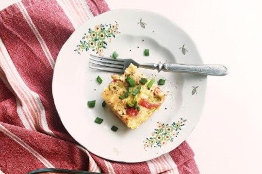 Ohoo, põnev toit! Valmista tatrajahust ahjupannkook köögiviljadega!