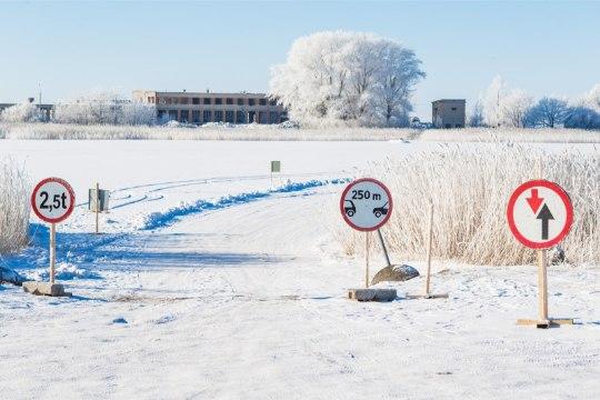 Virtsu-Hiiumaa liin suletakse, avatakse Saaremaa-Hiiumaa jäätee