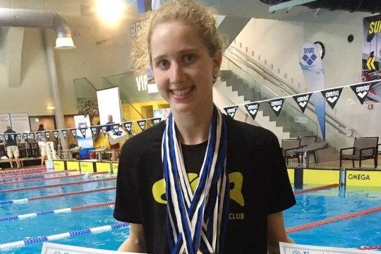 VINGE! 18aastane ujuja napsas Kanadas omale Eesti rekordi ning meistrivõistluste pronksi
