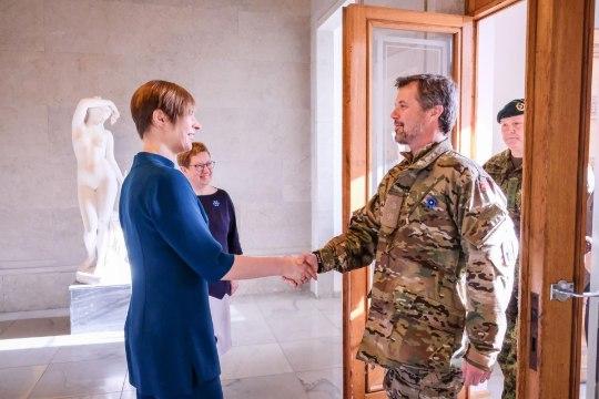 FOTOD   President Kaljulaid kohtus Taani kroonprints Frederikiga
