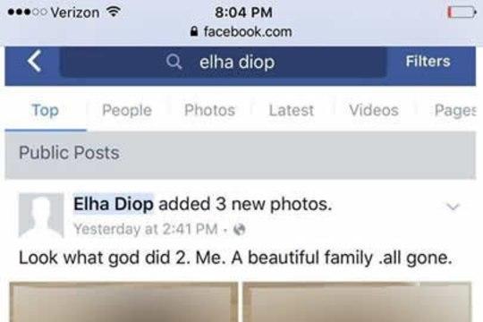 Муж задушил жену и дочь и выложил фото трупов в Facebook