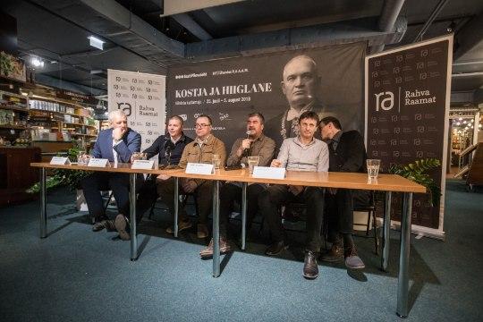"""Mart Kivastik esitles näidendit Pätsist: """"Konstantin Pätsil on viis nägu."""""""
