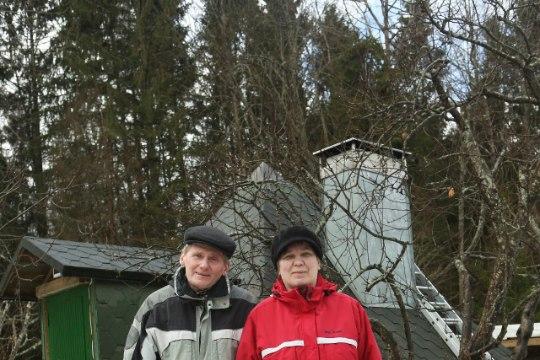 Tervendaja Rein Ahven ehitas hoovi peale püramiidi: toit seisab kauem värske, inimene ise ka