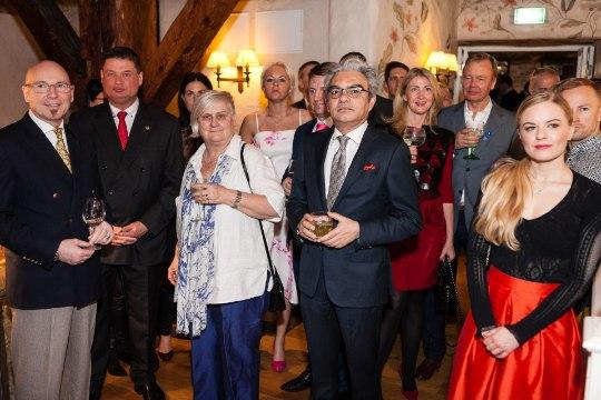 PILDIGALERII   Kohalik ja välismaine ärieliit tähistas Schlössle hotelli juubelit