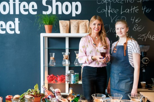 HOMMIKUSÖÖK STAARIGA   Helen Sildnaga põhjamaade parimat kohvi nautimas