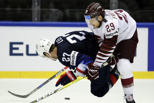 JÄÄHOKI MM: NHLi meesteta Läti hammustas USA-lt väärt punkti