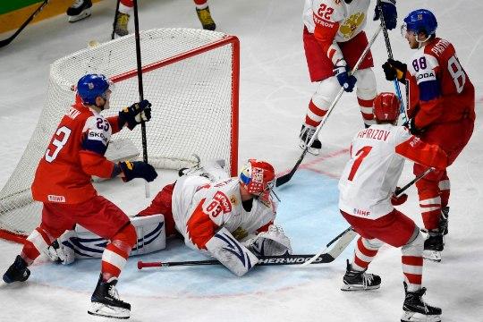 JÄÄHOKI MM: Kaval värav tõi Tšehhile lisaajal Venemaa üle magusa võidu