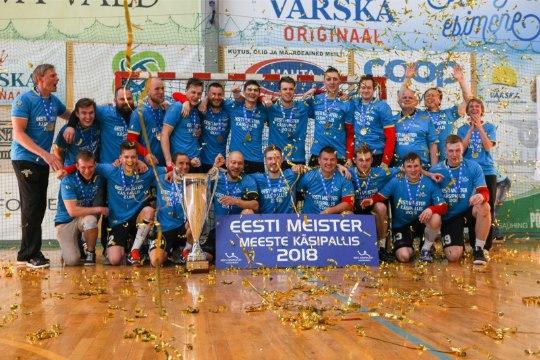 GALERII | UHKE VÄRK! Põlva Serviti krooniti neljandat korda järjest Eesti meistriks