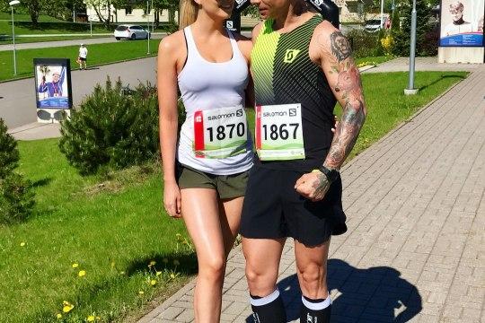 VAATA FOTOT: Tanel Padar läbis jalustrabava kallimaga maratoni